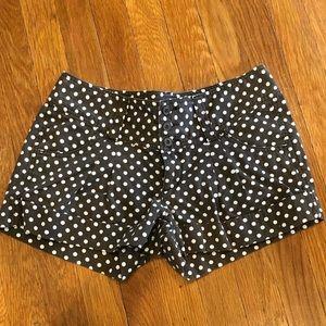 Express polka dot shorts